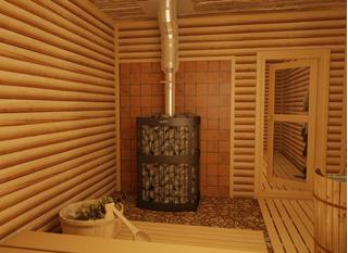 Безопасно обустроенная баня - залог отличного отдыха!